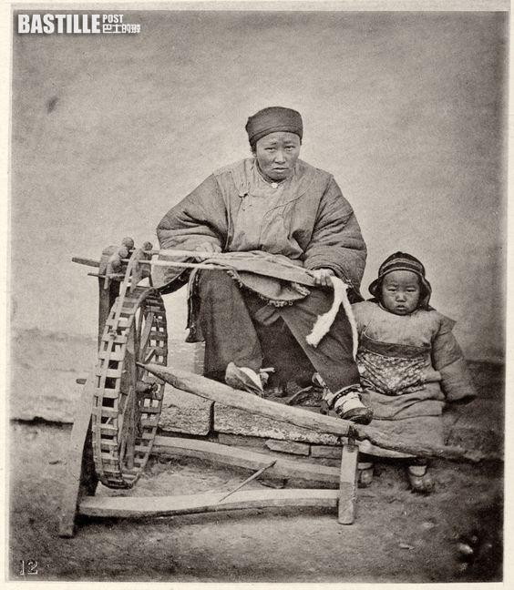 紡織婦人 (網上圖片)