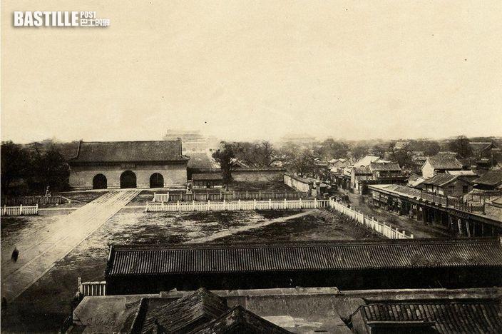 英國攝影師Thomas Child 在1870-1880年代拍攝的北京 (網上圖片)