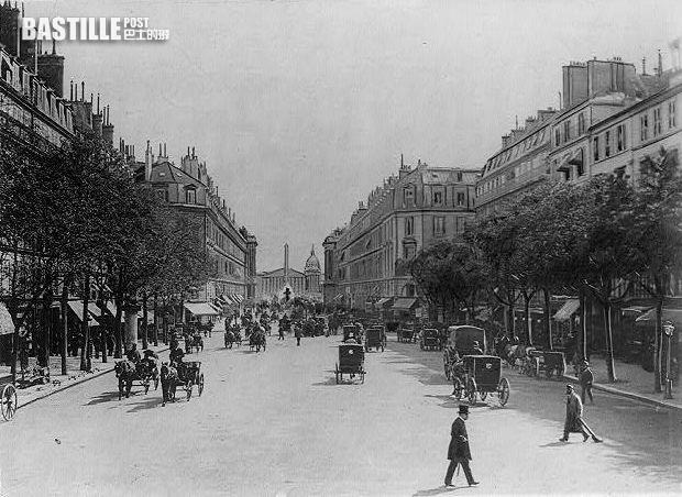1900年的法國巴黎 (網上圖片)