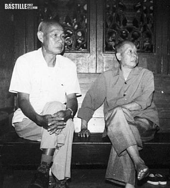 倖存者肖錚 (左) (網上圖片)