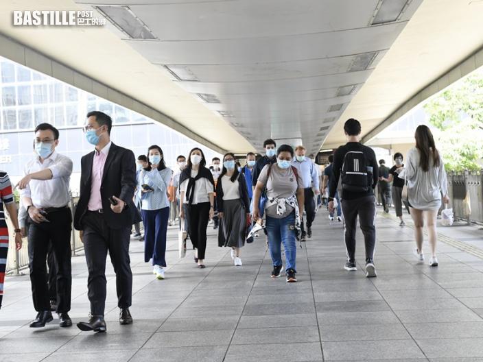 本港最新失業率為6.3% 失業人數跌至24.4萬人
