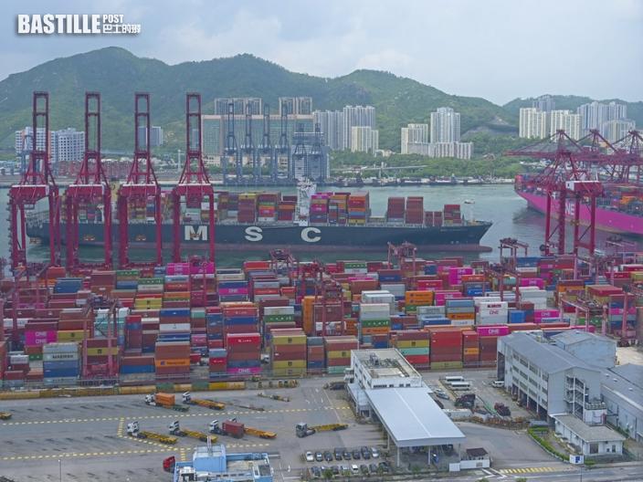 本港10月出口貨量按年跌0.1% 進口升1.0%