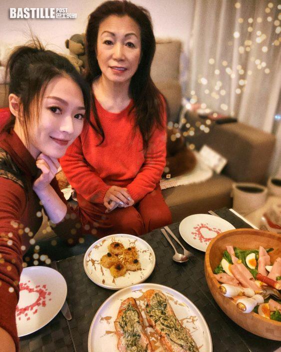 馬明錫錫靚湯首度佳節 連詩雅與母享聖誕大餐冇家樂份
