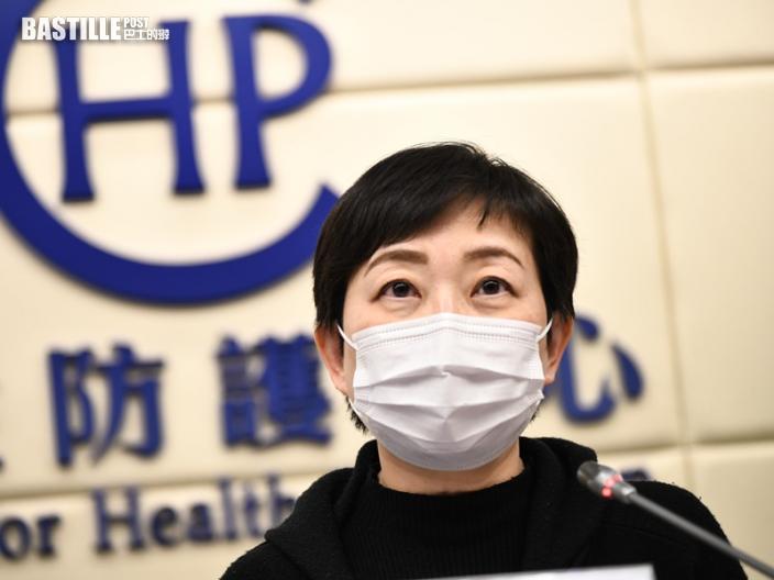 張竹君:確診數字未能反映假期感染 寄語港人繼續努力戰鬥