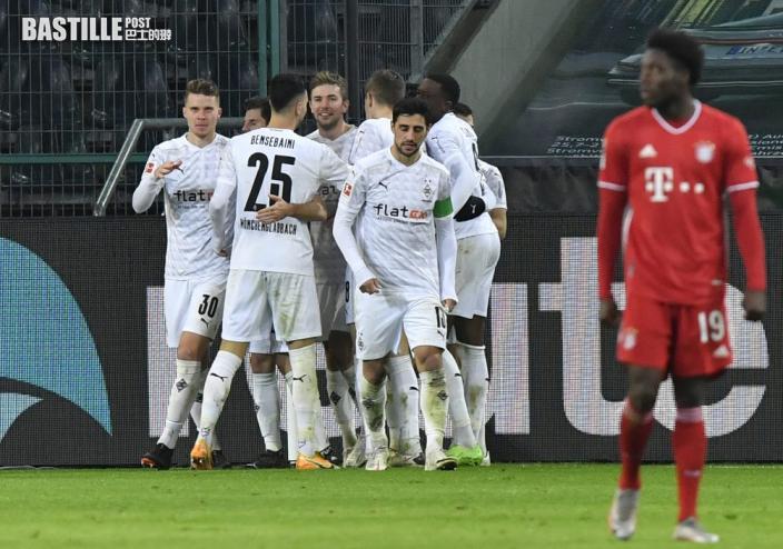 【德甲】慕遜加柏先失兩球 3:2反勝拜仁慕尼黑