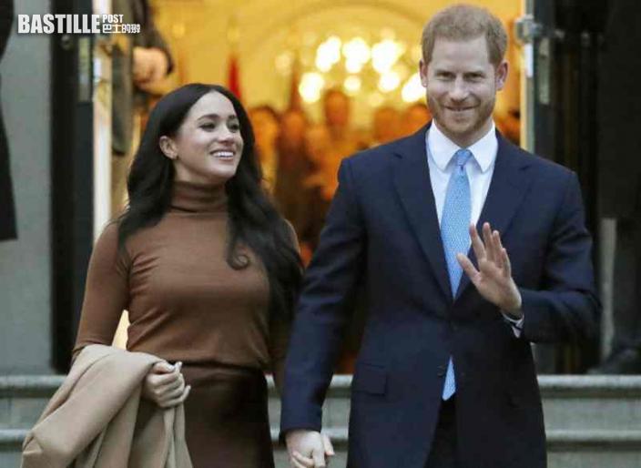 哈里王子夫婦脫離王室近一周年 將審視是否褫奪公爵頭銜