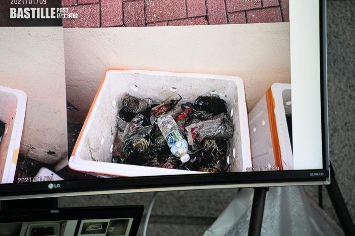 液態冰毒藏活蟹貨箱 警拘2男檢553萬元毒品