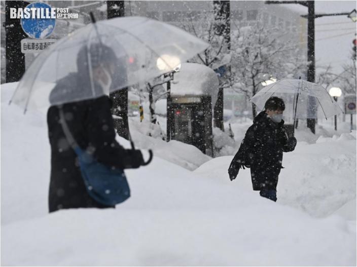 日本多地連降大雪 至少11死逾330傷