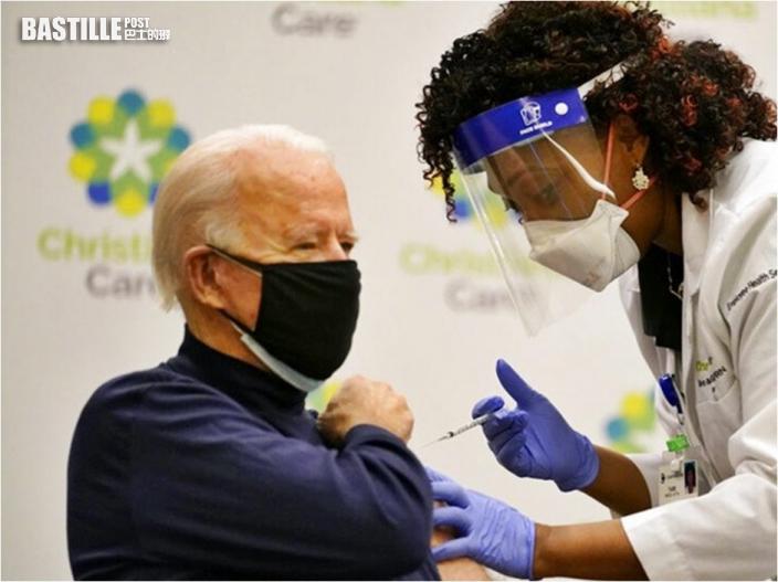 拜登注射第2劑疫苗 就職總統前完成接種