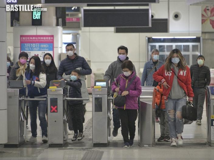 東鐵綫旺角東至紅磡站列車服務將於2月11日暫停