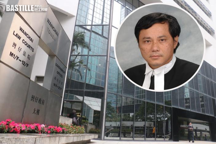 法官練錦鴻再拒「黃色英文縮寫」口罩 兩旁聽者拒換離場