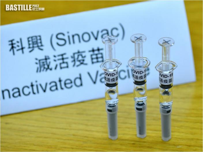 科興疫苗僅得5成有效率 藥劑師學會:長者注射成效或更低