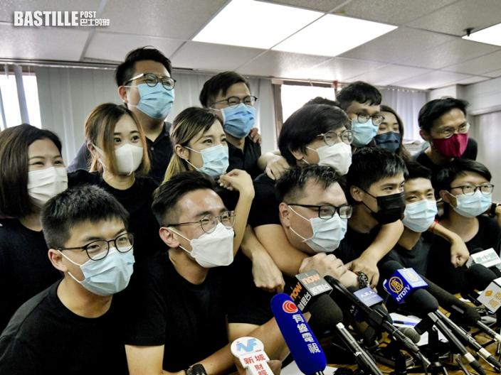 報道指被捕者手機「送中」 警方斥全屬虛假
