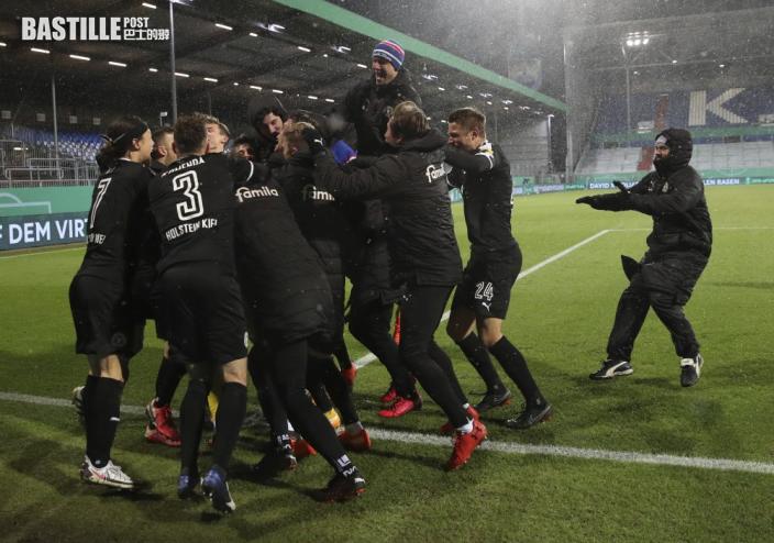【德國盃】拜仁鬥德乙基爾完場前被逼和 互射十二碼爆冷出局