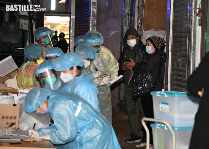 新填地街爆疫涉13單位 當局安排79名居民送檢疫中心