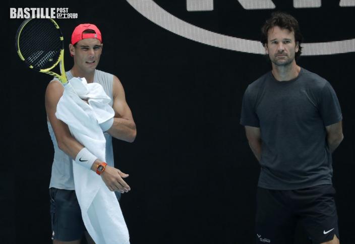【澳網】澳網下月開賽 拿度泰姆教練未能陪戰
