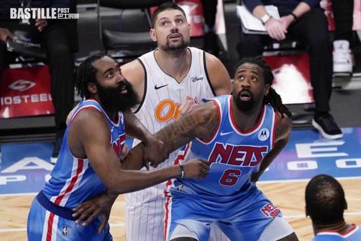 【NBA】哈登地標戰三十二分三雙 率籃網122:115擊敗魔術