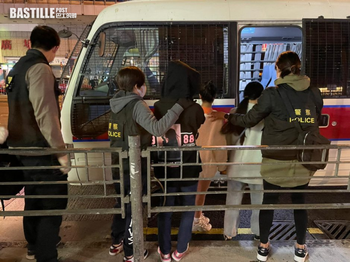 旺角警喬裝顧客掃黃 拘3名非法入境內地女