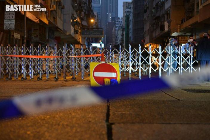 【爆疫一周年】佐敦四街禁足 保安員下班滯留點心姐返工難