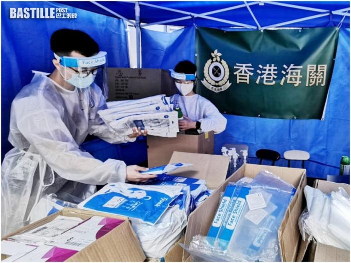【爆疫一周年】政府動員逾3000人圍封佐敦 海關派350人協助