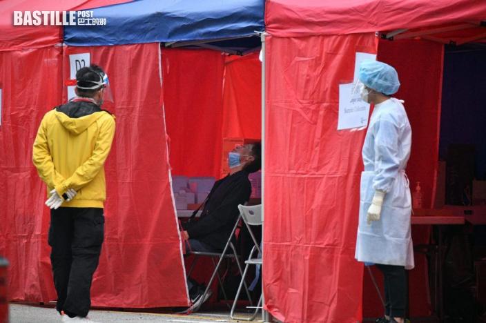 【爆疫一周年】圍封佐敦四街 半日3000市民接受檢測