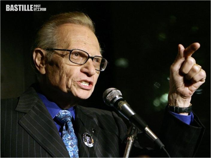 美國名嘴Larry King逝世 享年87歲