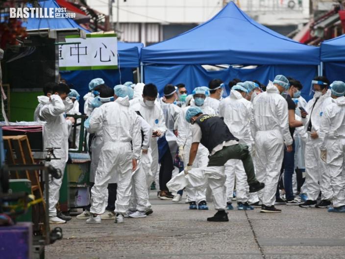 【封佐敦四街】居民不滿未准取物資叫「救命」 有孕婦被送上救護車