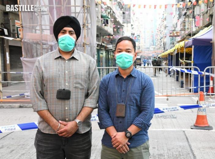 【封佐敦四街】懲教署派出逾230人 包括逾10名非華裔職員