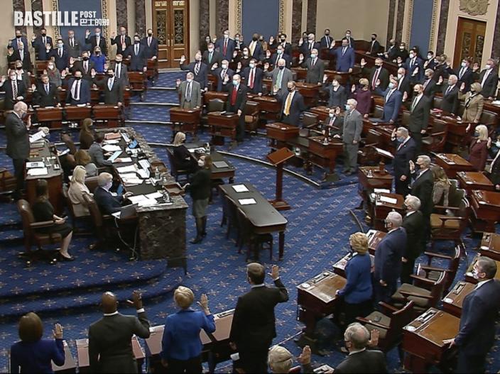 共和黨參議員指審訊違憲 票數或不足彈劾特朗普