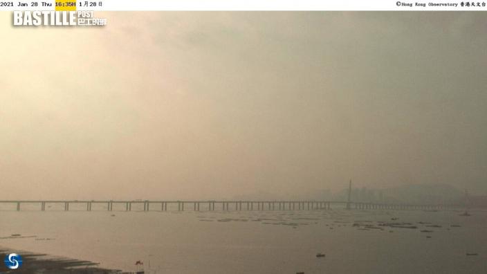 7區空氣污染達高水平