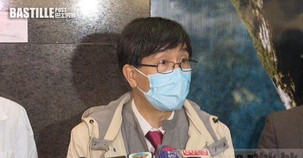 袁國勇估計,當事人是在社區受感染,再傳入醫院。(梁禎祥攝)