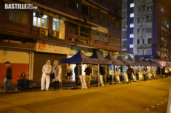 土瓜灣僑裕大廈及僑發大廈被圍封強檢 目標明早7時半完成