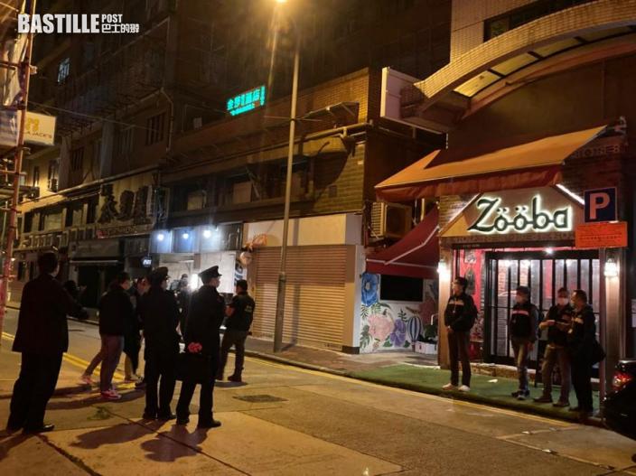 執法人員巡查尖沙咀揭食肆違規 共檢控39人