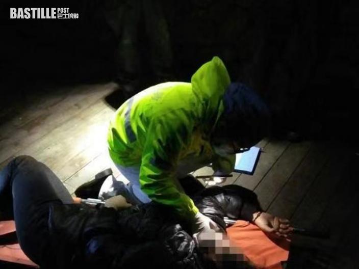 女子上山吞刀自殺 杭州機智警憑線索成功救援