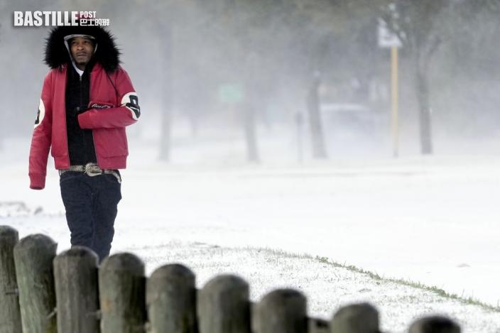 美國德州冬季暴風雪造成數百萬戶停電