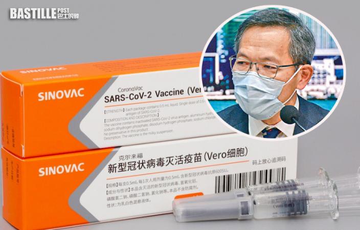 指科興疫苗有效率不止5成 劉澤星:個人認為長者可接種