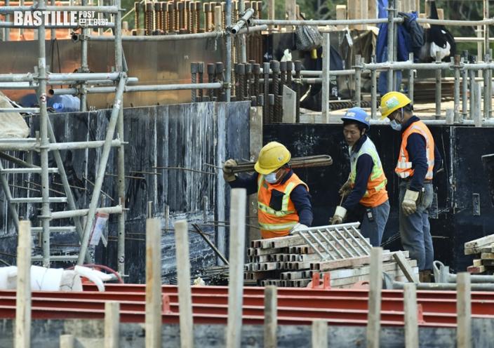 工人入地盤須持陰性檢測結果 建造商會指運作大致暢順