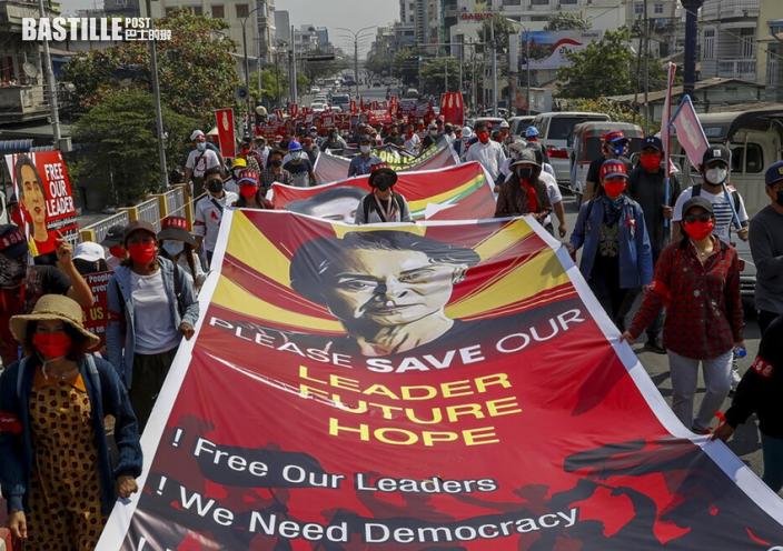 緬甸民眾不合作運動蔓延 港商指影響清關及工廠運作