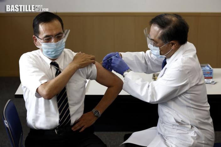 日本展開新冠疫苗接種計畫 東京都醫護成首批接種者