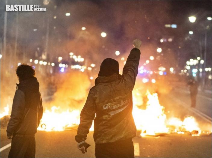 極左饒舌歌手被捕 巴塞隆拿數千人上街示威要求放人