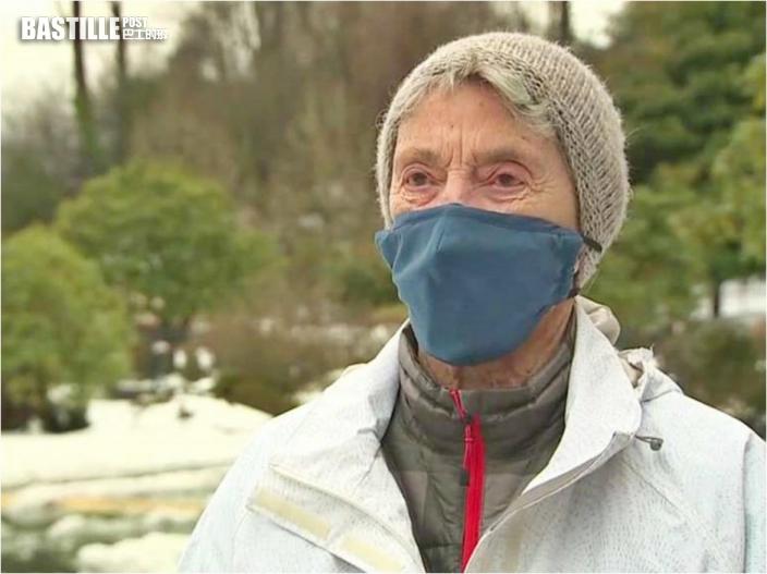 為接種新冠疫苗 美老婦冒風雪步行10公里