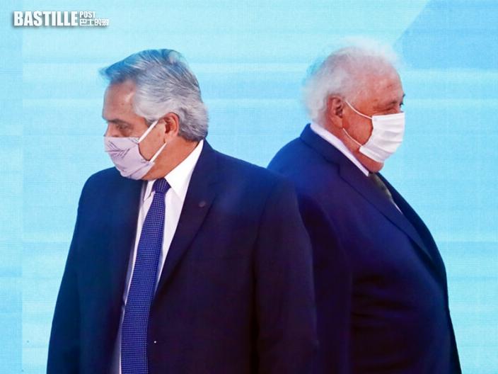 阿根廷「打尖」接種新冠疫苗醜聞 總統要求衞生部長辭職