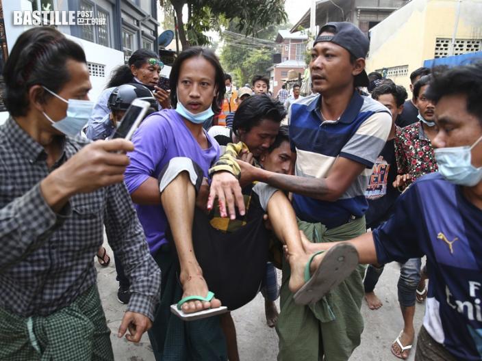 緬甸開槍鎮壓示威者至少2死20傷 多國強烈譴責