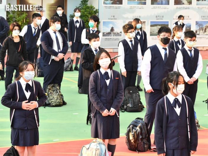 全港學校今起復課 學生指體育不敢除口罩