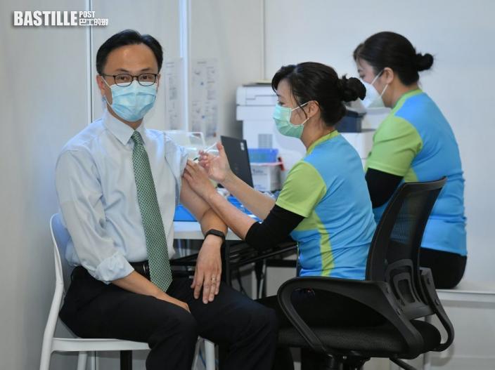 凌晨起市民可以預約首輪疫苗接種