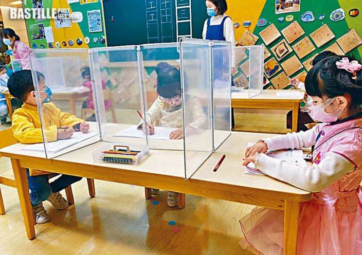 幼稚園「一校兩制」 K1至K3分三組返校