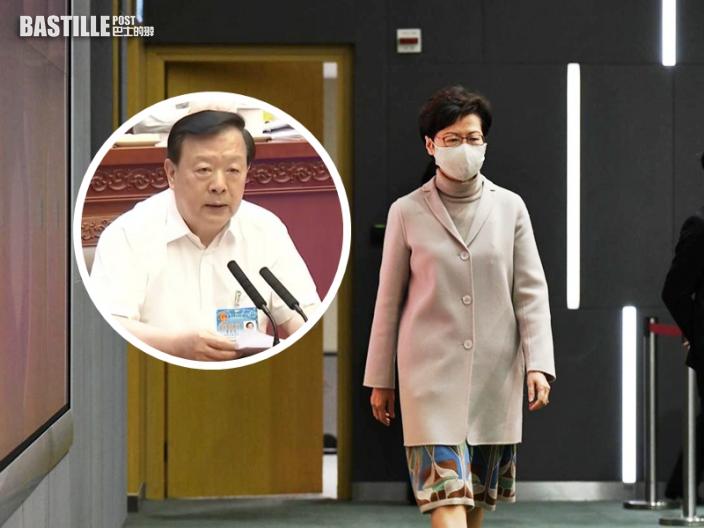 林鄭:中央出手解決政治體制問題 一國兩制不至難以貫徹落實