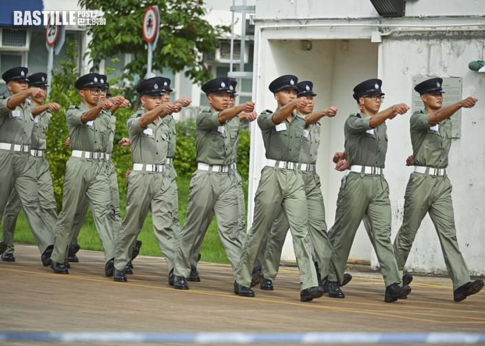 4紀律部隊首長證曾向駐港部隊學中式步操