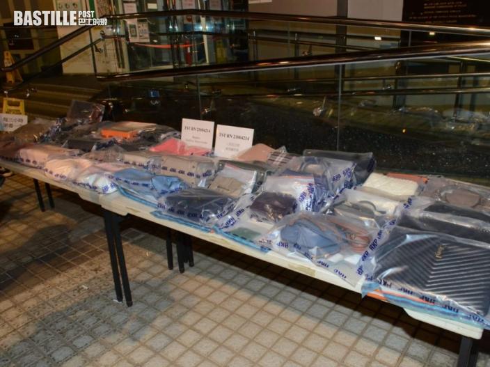 警拘兩女一男涉嫌爆竊 起回50萬飾物及二手名牌手袋