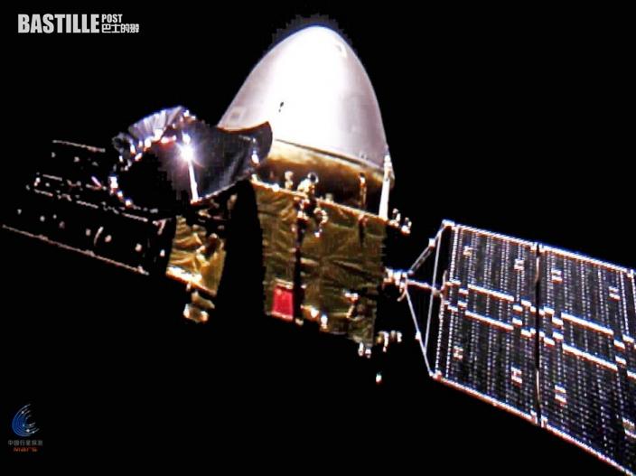 天問一號探測器成功進入火星停泊軌道